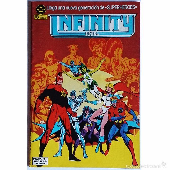 INFINITY INC Nº 1 / DC / ZINCO 1986 ( ROY THOMAS & JERRY ORDWAY ) (Tebeos y Cómics - Números 1)