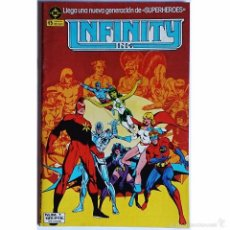 Tebeos: INFINITY INC Nº 1 / DC / ZINCO 1986 ( ROY THOMAS & JERRY ORDWAY ). Lote 56041736