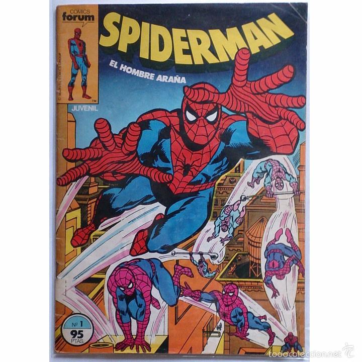 SPIDERMAN VOL 1 Nº 1 / MARVEL / FORUM 1983 (MARV WOLFMAN & SAL BUSCEMA) PIEZA DE COLECCIONISTA (Tebeos y Cómics - Números 1)