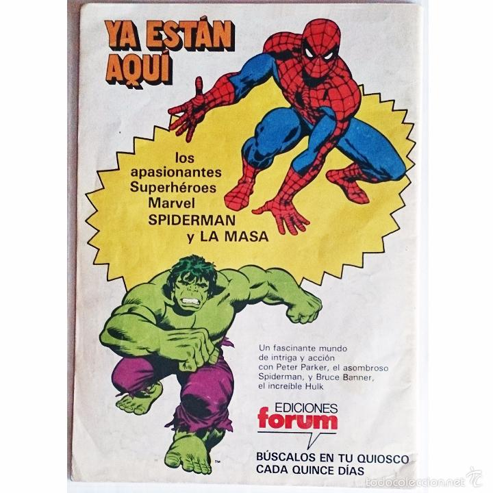 Tebeos: Spiderman Vol 1 Nº 1 / Marvel / Forum 1983 (Marv Wolfman & Sal Buscema) Pieza de Coleccionista - Foto 2 - 226226892