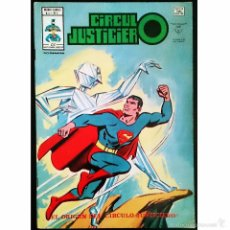 Tebeos: CIRCULO JUSTICIERO Nº 1 / EL ORIGEN DE LA LIGA DE LA JUSTICIA / DC / VERTICE / MUNDI COMICS 1977 -. Lote 52782640