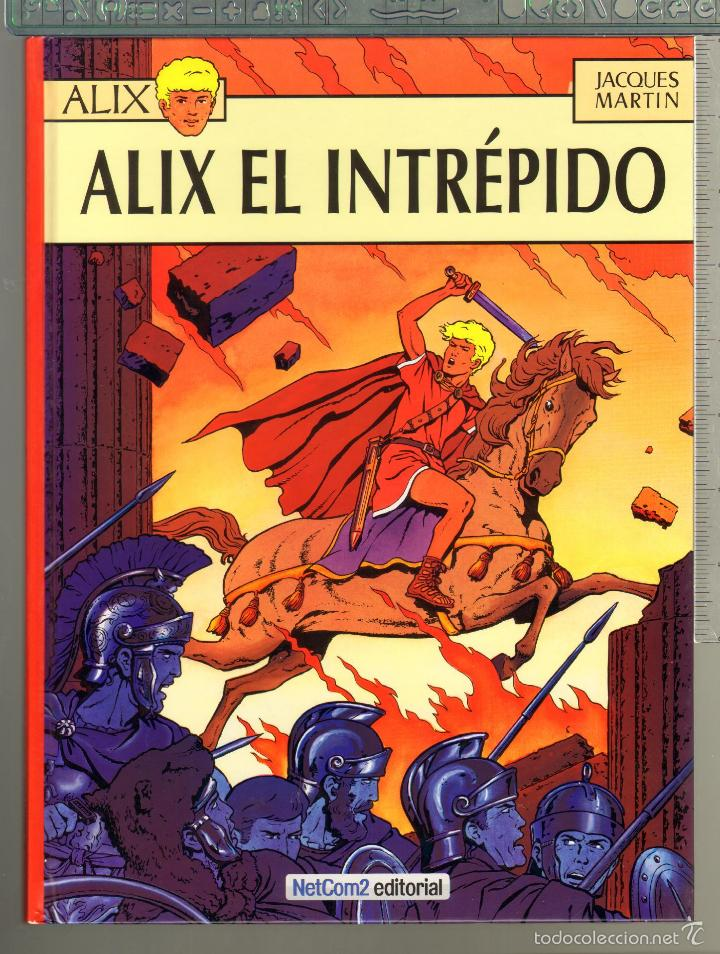 TEBEOS-COMICS CANDY - ALIX Nº 1 - 1ª ED. LIMITADA Y NUMERADA - ALIX EL INTREPIDO - J. MARTIN *AA99 (Tebeos y Cómics - Números 1)