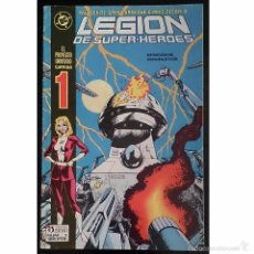 Tebeos: LEGION DE SUPERHEROES Nº 1 / DC / ZINCO 1987 (PAUL LEVITZ & GREG LAROCQUE ). Lote 52998321