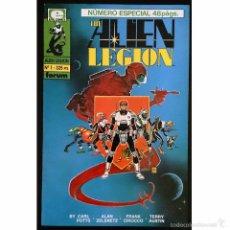 Tebeos: THE ALIEN LEGION Nº 1 / EPIC / FORUM 1991 (ALAN ZELENETZ & FRANK CIROCCO). Lote 52635932