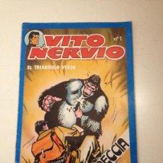 Giornalini: VITO NERVIO Nº 1. SAN ROMAN 1980. ALBERTO BRECCIA.. Lote 56992459