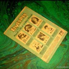 Tebeos: LEYENDAS (T. DELGADO - 1947) ... Nº 1 ¡¡ MUY RARO !!. Lote 57142640