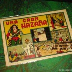 Tebeos: LAS GRANDES AVENTURAS (H. AMERICANA - 1941) ... UNA GRAN HAZAÑA (MONOGRAFICO DE IRANZO). Lote 57142654