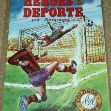 Tebeos: HEROES DEL DEPORTE Nº 1 - AMBROSIO - VALENCIANA 1983 - ORIGINAL-IMPORTANTE LEER. Lote 57846313