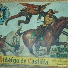 Tebeos: EL HIDALGO DE CASTILLA Nº 1 - ORIGINAL 1959- LEER. Lote 57907530