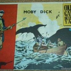Tebeos: MOBY DICK - Nº 1 - ORIGINAL GALAOR - LEER DESCR.. Lote 57907550