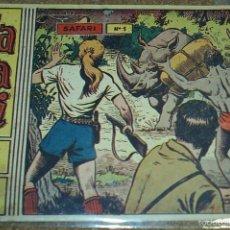 Tebeos: SAFARI - Nº 1 - ORIGINAL - RICART 1963. Lote 57915107