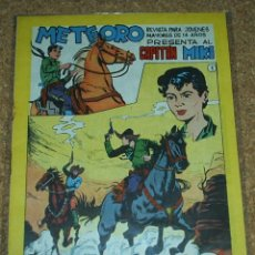 Tebeos: CAPITAN MIKI- SERIE METEORO - Nº 1 - ORIGINAL - MAGA 1964- LEER DESCR. Lote 57917026