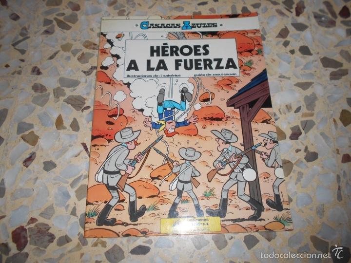CASACAS AZULES - HEROES A LA FUERZA N. 1 LOS GUERRERAS AZULES - UN CARRO EN EL OESTE N. 1 (Tebeos y Cómics - Números 1)