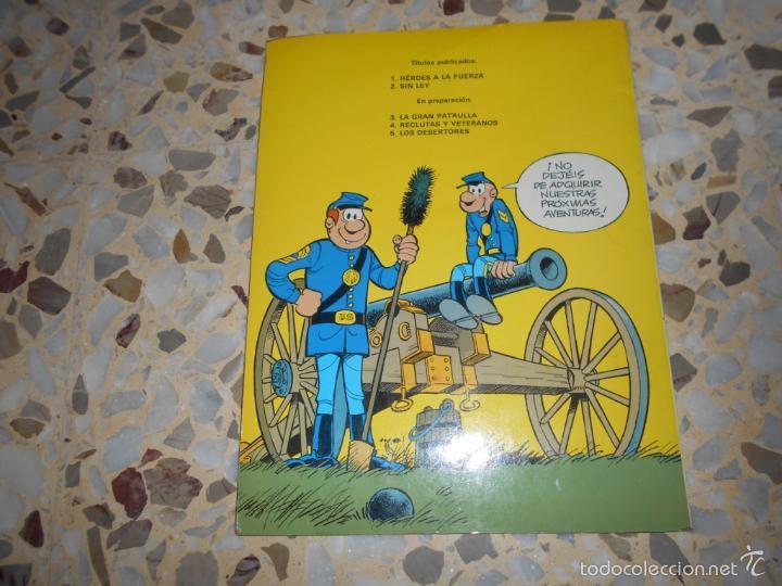 Tebeos: CASACAS AZULES - HEROES A LA FUERZA N. 1 LOS GUERRERAS AZULES - UN CARRO EN EL OESTE N. 1 - Foto 5 - 59448405