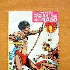 Giornalini: FILMOCOLOR, Nº 1 - CINCO SEMANAS EN GLOBO - JULIO VERNE - EDITORIAL CERVANTES 1959. Lote 61347915