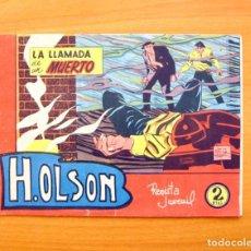 Tebeos: H. OLSON, Nº 1 (INSPECTOR H) - LA LLAMADA DE UN MUERTO - EDITORIAL BERNABEU 1963. Lote 61371683