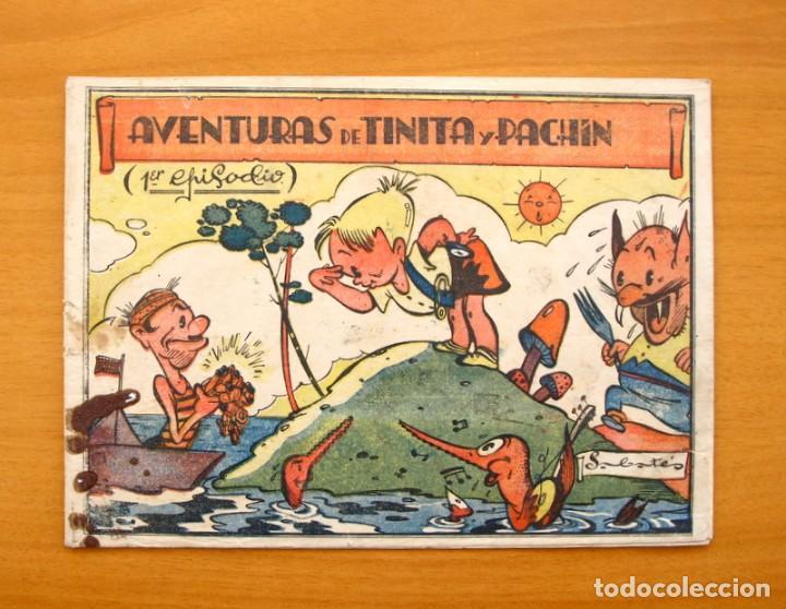 AVENTURAS DE TINITA Y PACHIN, Nº 1 - EDITORIAL BERGIS MUNDIAL, AÑOS 40, RARO Y VARIEDAD, VER DENTRO (Tebeos y Cómics - Números 1)