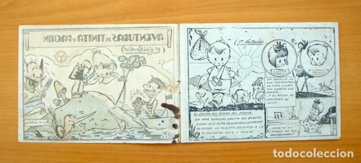 Tebeos: Aventuras de Tinita y Pachin, nº 1 - Editorial Bergis Mundial, años 40, RARO y VARIEDAD, ver dentro - Foto 2 - 61371931