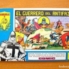 Tebeos: EL GUERRERO DEL ANTIFAZ, Nº 1 - TOMOS AZULES - EDITORIAL VALENCIANA 1981. Lote 61381891