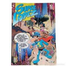 Tebeos: SUPER LOPEZ Nº 1 / EDICIONES B 1987 (JAN). Lote 61905188