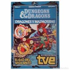 Giornalini: DUNGEONS & DRAGONS Nº 1 / FORUM 1985 (FRANCISCO PEREZ NAVARRO & PASQUAL FERRY). Lote 52998904