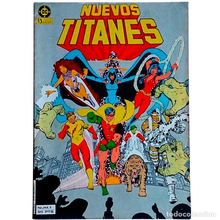 NUEVOS TITANES VOL 1 Nº 1 / DC / ZINCO 1984 (MARV WOLFMAN & GEORGE PEREZ) (Tebeos y Cómics - Números 1)