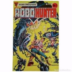 Tebeos: ROBO HUNTER Nº1 / ROBOHUNTER / EDICIONES ZINCO 1985 (JOHN WAGNER & IAN GIBSON). Lote 65246343