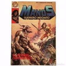 Tebeos: MANOS Nº 1 / BRUGUERA 1984 (SERIE GRAPA). Lote 65249079