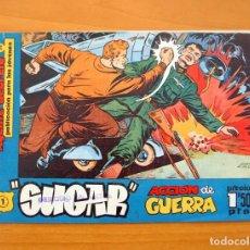 Tebeos: SUGAR AGENTE SECRETO Nº 1 ACCIÓN DE GUERRA - EDITORIAL HISPANO AMERICANA 1960. Lote 65859990