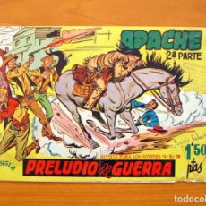 Tebeos: APACHE 2ª PARTE Nº 1 PRELUDIO DE GUERRA - EDITORIAL MAGA 1957. Lote 65860894