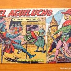 Tebeos: EL AGUILUCHO Nº 1 COMPLOT SINIESTRO - EDITORIAL MAGA 1959. Lote 65862386