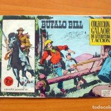Tebeos: BÚFALO BILL, Nº 1 - EDITORIAL GALAOR 1965. Lote 66143026