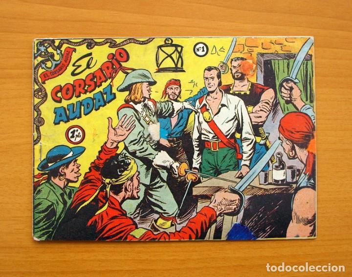 EL CORSARIO AUDAZ Nº 1 - EDITORIAL RICART 1955 (Tebeos y Cómics - Números 1)