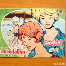 Tebeos: GUENDALINA, Nº 1 CONSULTORIO SENTIMENTAL - EDICIONES TORAY 1959. Lote 66190430
