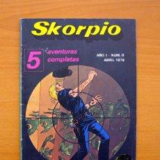 Tebeos: SKORPIO, Nº 0 - EDITORIAL EDILÁN 1978. Lote 66196302