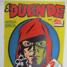 Tebeos: EL DUENDE. CUADERNO ÚNICO Y ORIGINAL DE PUBLICACIONES DE HARO, BARCELONA. Lote 66817526