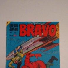 Tebeos: BRAVO Nº 1. BRUGUERA 1968. Lote 67880045