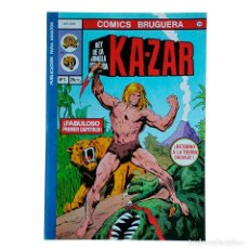 Tebeos: KAZAR / KA-ZAR Nº 1 / MARVEL / BRUGUERA 1978 (DOUGH MOENCH & JOHN BUSCEMA). Lote 52574200