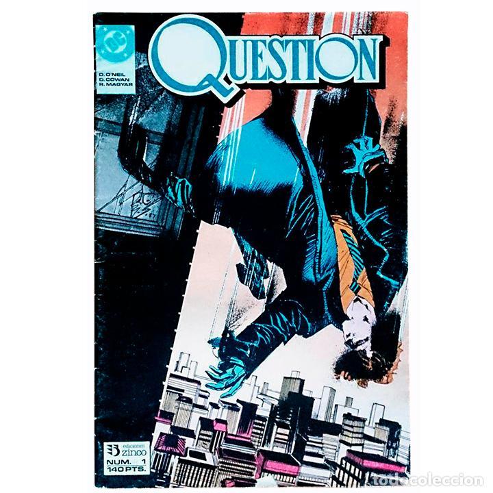 QUESTION Nº 1 / DC / ZINCO 1988 (DENNIS O'NEIL & DENYS COWAN) (Tebeos y Cómics - Números 1)