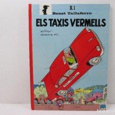 Tebeos: Nº 1 BENET TALLAFERRO ELS TAXIS VERMELLS - TAPA DURA - CATALA. Lote 70641721