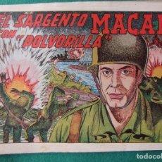 Tebeos: EL SARGENTO MACAI Nº 1 EDITORIAL GRAFIDEA 1952. Lote 73746911