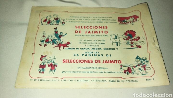 Tebeos: Hazañas de la juventud audaz . Heredó un mundo N° 1 . Ed. Valenciana . Original 1959 - Foto 2 - 74995666