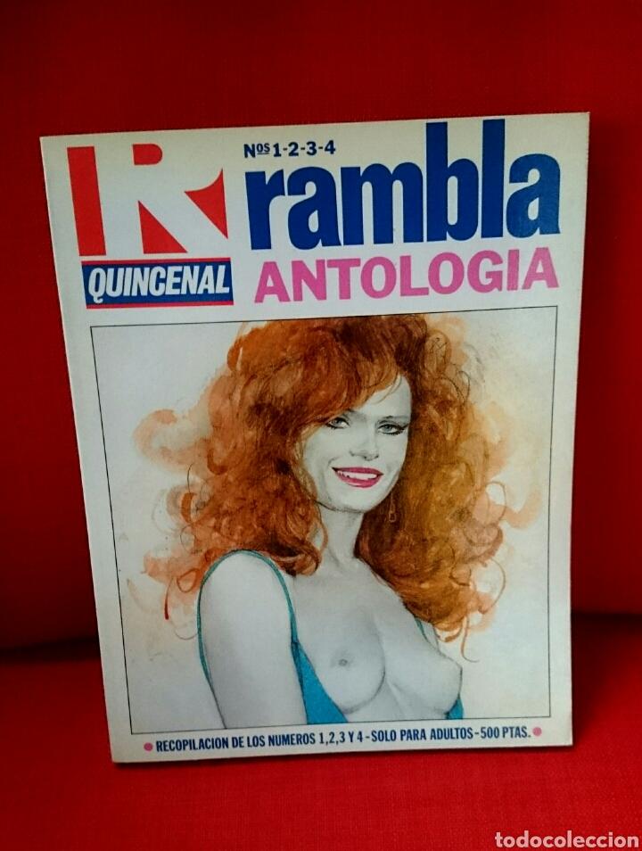RAMBLA- ANTOLOGÍA.1984 (Tebeos y Cómics - Números 1)