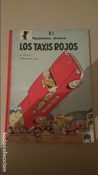 VALENTIN ACERO- LOS TAXIS ROJOS Nº1 (Tebeos y Cómics - Números 1)