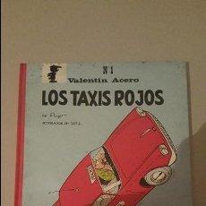 Tebeos: VALENTIN ACERO- LOS TAXIS ROJOS Nº1. Lote 82130004