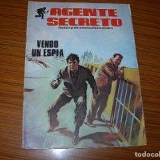 Tebeos: AGENTE SECRETO Nº 1 EDITA PRODUCIONES EDITORIALES . Lote 82428920