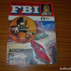 Tebeos: CABOT AGENTE SECRETO DEL FBI Nº 1 EDITA SENA . Lote 82552552