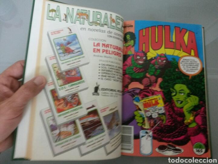 Tebeos: HULKA FORUM VOL. ENCUADERNADO No 1 al 8 1990 - Foto 2 - 83458060