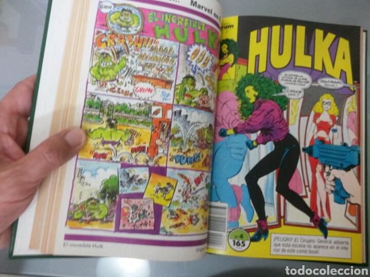 Tebeos: HULKA FORUM VOL. ENCUADERNADO No 1 al 8 1990 - Foto 4 - 83458060