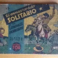 Tebeos: PIF-PAF N. 1 EL ENMASCARADO SOLITARIO, EL LLANERO SOLITARIO. Lote 83887220